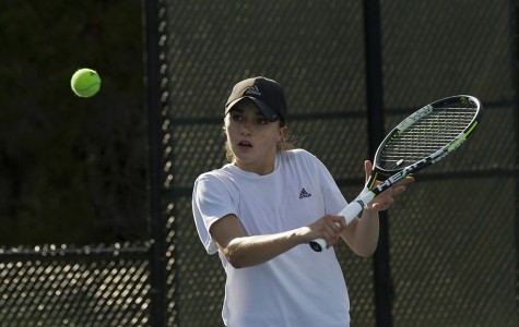 Senior Fernanda Contreras wins tennis State Championship