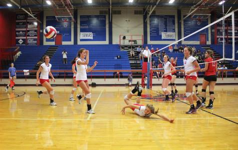 Chaps volleyball team defeats Lake Travis, improves on undefeated District record