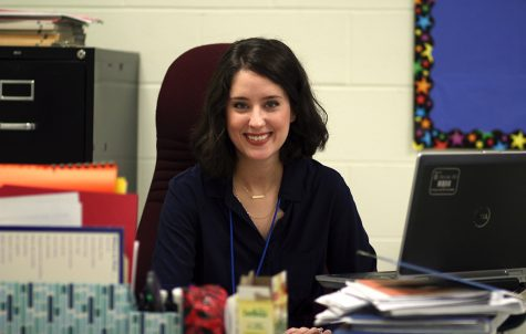 New French teacher begins school year