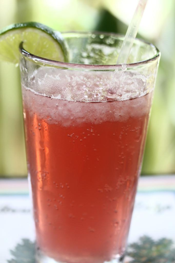A speciality drink on the non-coffee drinks is the fresh squeezed cherry lemonade