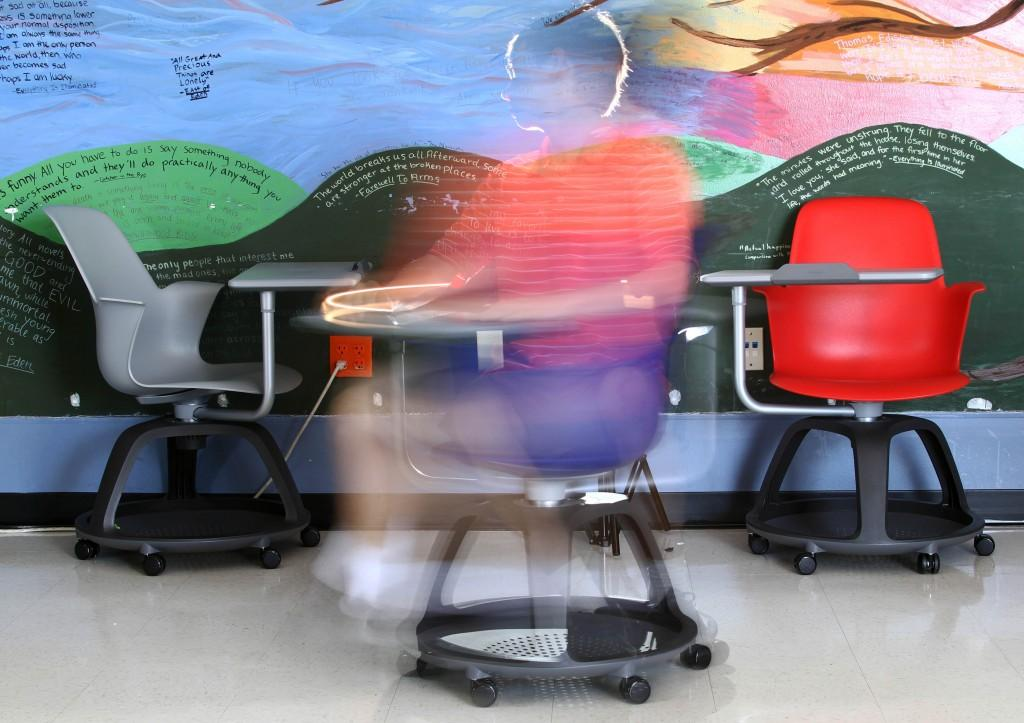 New desks introduced to classrooms