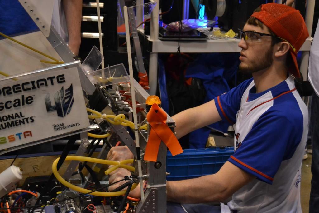 Team 2468 competes in FIRST World Championships