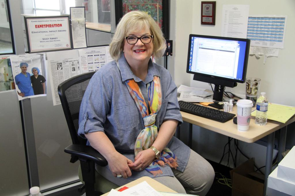 Mentorship instructor Vickey Abney retires after 21 years of service at Westlake High School.