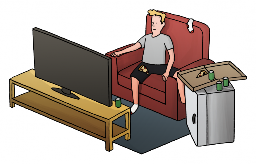 Students reveal the amount of time spent on binge watching