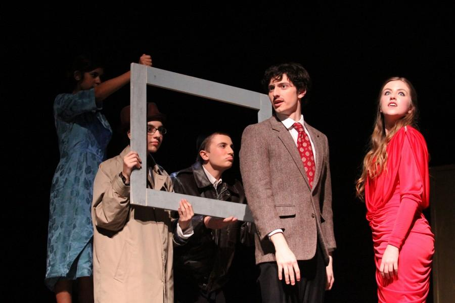 The+theatre+department+performs+their+pre-UIL+showing+of+the+one-act+play%2C+The+39+Steps+on+Friday%2C+March+13.
