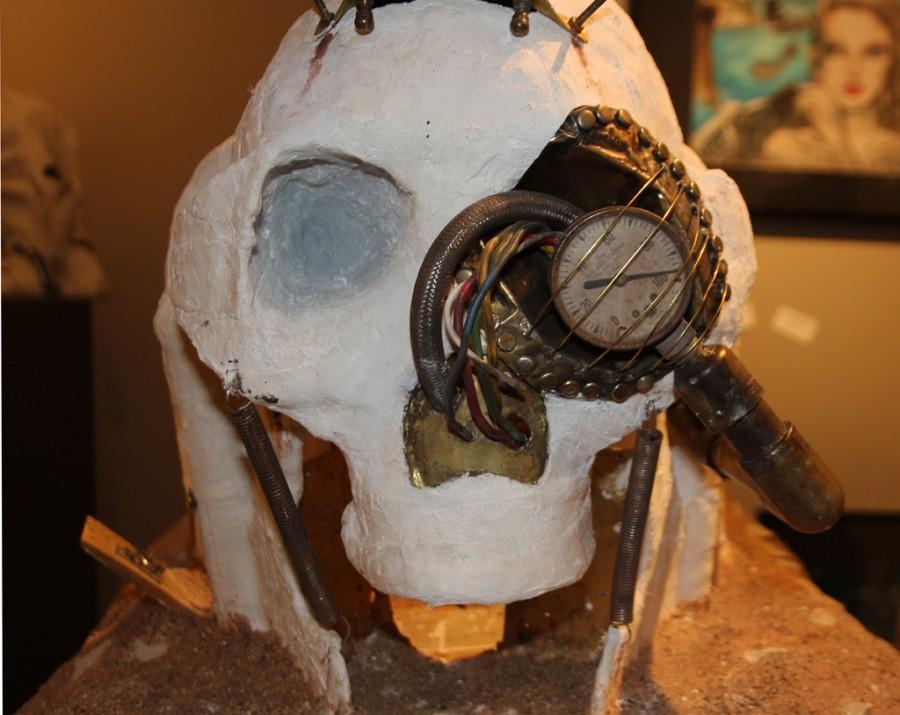 Nick Daniel finds passion in sculpture