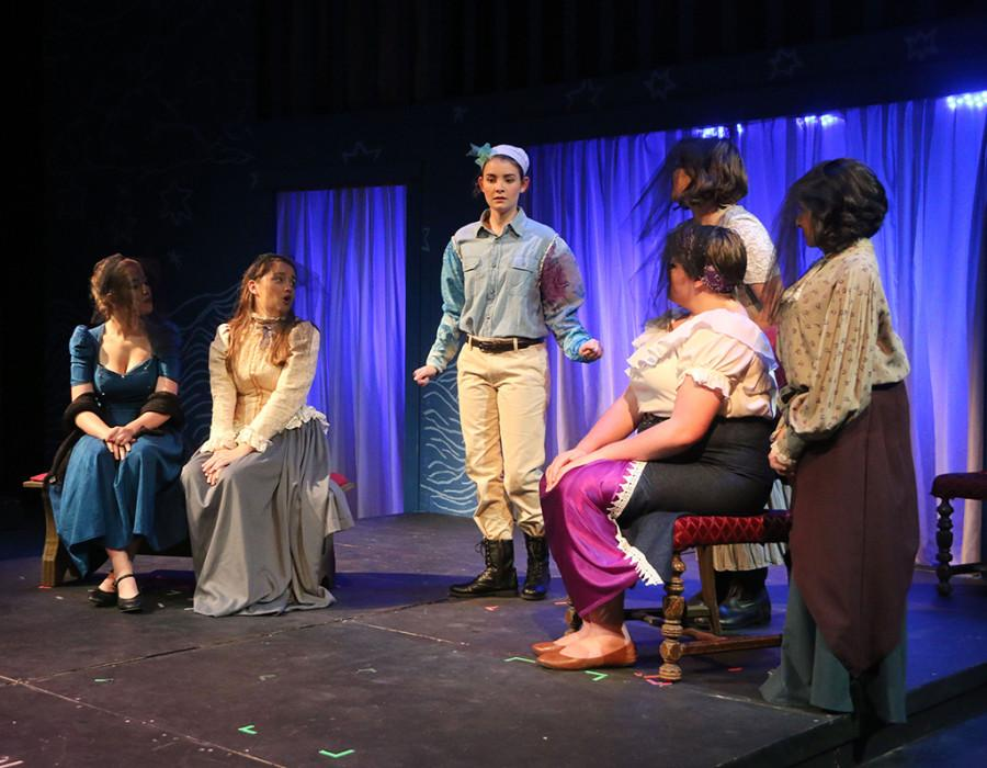 The theatre put on a production of Shakespeare's Twelfth Night in which Claire McCaslin played the role of Viola.