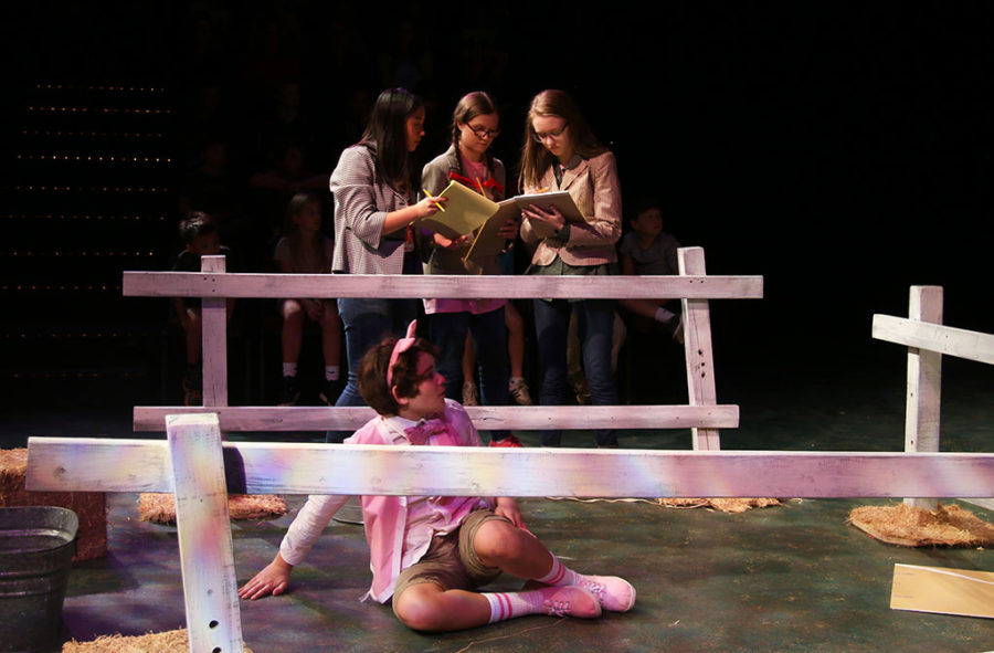 Theater department performs Charlotte's Web for annual children's play