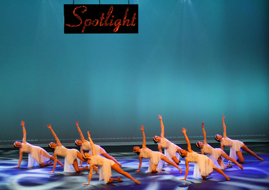 The Westlake highschool dance 3/4 class performs it's contemporary dance for the dance departments fall showcase, Spotlight. It is the most advanced class of all the dance classes. They danced to the song Piece by Piece by Kelly Clarkson for a performance that brings the show to an emotional state.