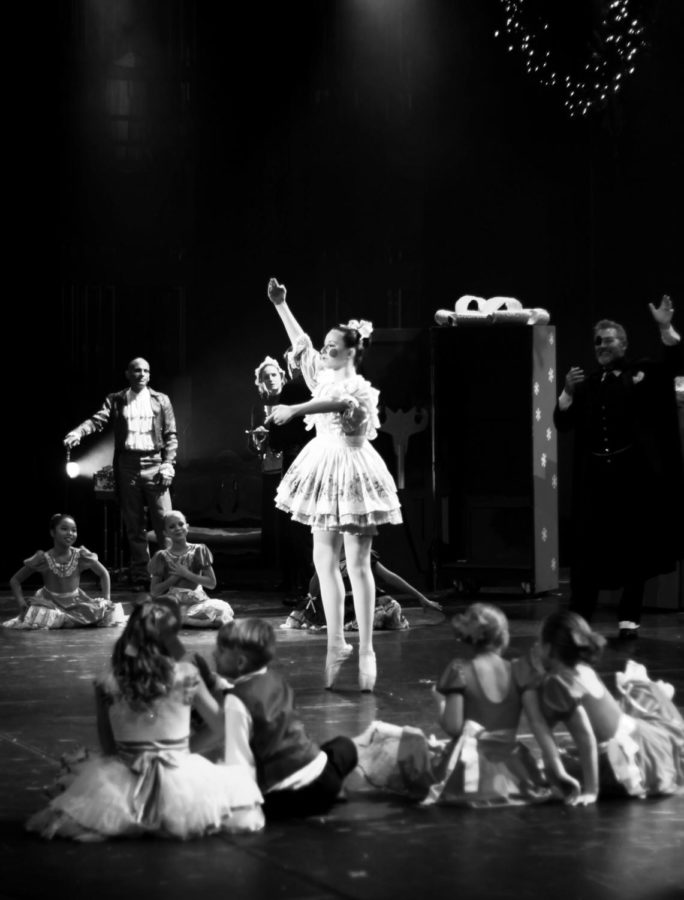 Lauren Konkol plays the Doll in the 2017 Nutcracker Spectacular. This performance was held in the PAC.