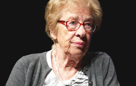 Holocaust survivor Eva Schloss speaks in Westlake PAC, encourages youth to be active