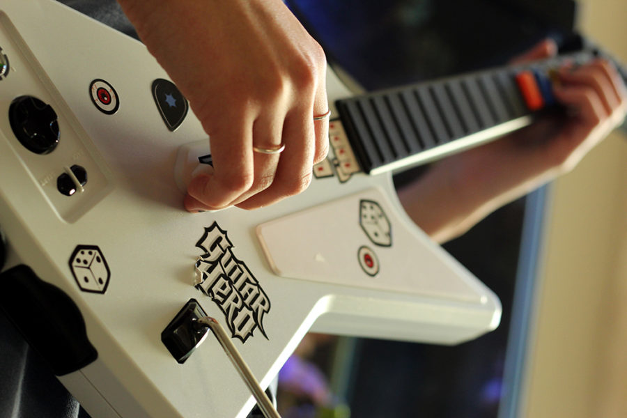 Guitar Hero,  student reflects on video game Guitar Hero and the effect it had on her