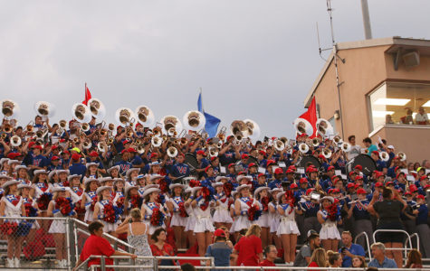 High School and Middle School band event