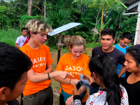 Students travel to the Amazon