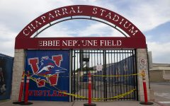 On April 8, the gate to the Westlake stadium was blocked. The stadium will be closed until further notice. However, in an effort to commemorate the class of 2020 graduates, the high school has been turning on the stadium lights at 8:20, 20:20 military time, every Friday.